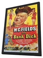 The Bank Dick - 11 x 17 Movie Poster - Style C - in Deluxe Wood Frame