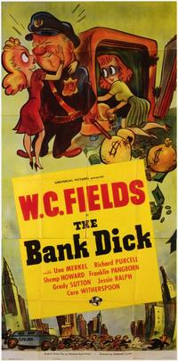 The Bank Dick - 11 x 17 Movie Poster - Style B