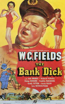 The Bank Dick - 11 x 17 Movie Poster - Style C