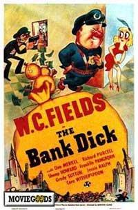 The Bank Dick - 43 x 62 Movie Poster - Bus Shelter Style A