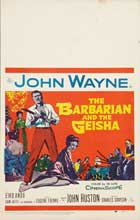 The Barbarian and the Geisha - 11 x 14 Movie Poster - Style I
