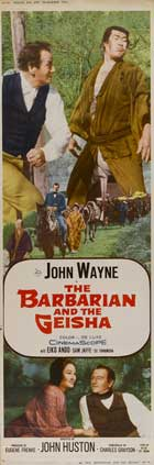 The Barbarian and the Geisha - 14 x 36 Movie Poster - Insert Style B