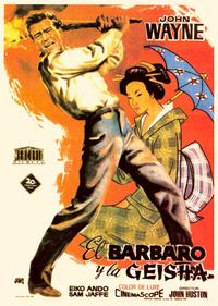 The Barbarian and the Geisha - 43 x 62 Movie Poster - Spanish Style A
