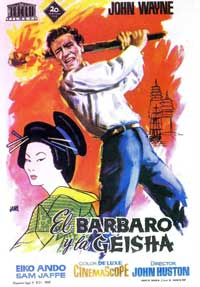 The Barbarian and the Geisha - 11 x 17 Movie Poster - Spanish Style B
