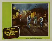 The Barbarian and the Geisha - 11 x 14 Movie Poster - Style F