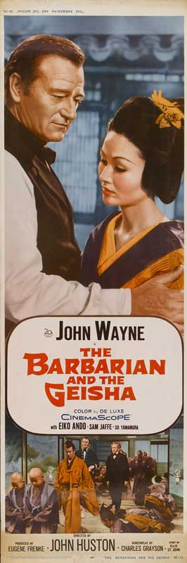 The Barbarian and the Geisha - 14 x 36 Movie Poster - Insert Style D