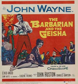The Barbarian and the Geisha - 30 x 30 Movie Poster - Style A