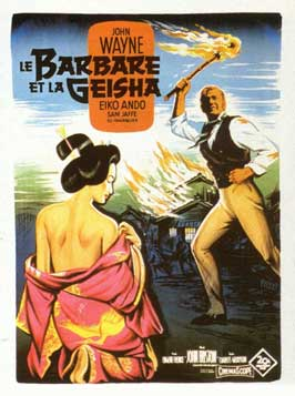 The Barbarian and the Geisha - 11 x 17 Movie Poster - French Style A