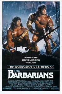The Barbarians - 11 x 17 Movie Poster - Style B