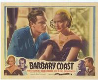 Barbary Coast, The - 11 x 14 Movie Poster - Style A