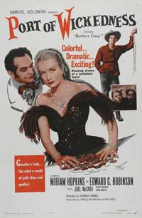 Barbary Coast, The - 11 x 17 Movie Poster - Style C