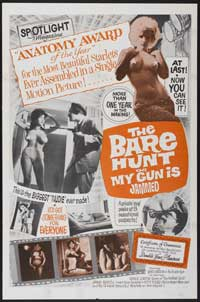 The Bare Hunt - 43 x 62 Movie Poster - Bus Shelter Style A