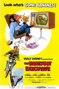 The Barefoot Executive - 11 x 17 Movie Poster - Style A