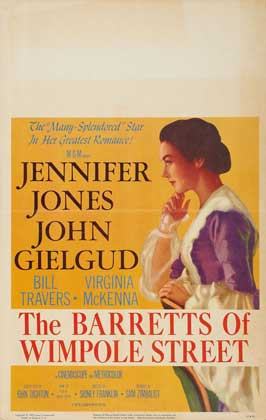 The Barretts of Wimpole Street - 27 x 40 Movie Poster - Style B