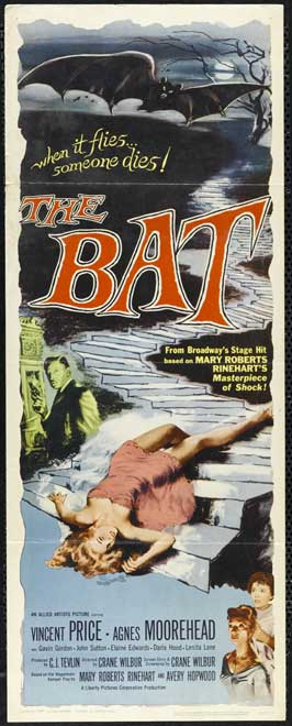 The Bat - 14 x 36 Movie Poster - Insert Style A