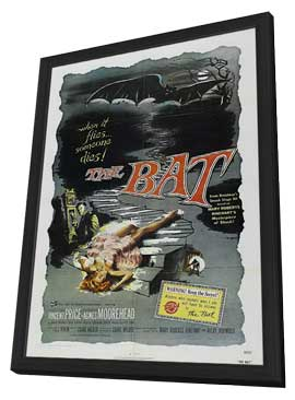 The Bat - 27 x 40 Movie Poster - Style B - in Deluxe Wood Frame