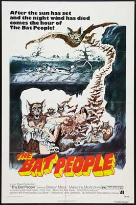 The Bat People - 27 x 40 Movie Poster - Style B