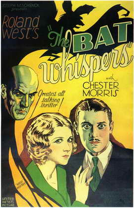 The Bat Whispers - 11 x 17 Movie Poster - Style A