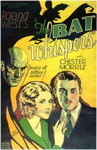 The Bat Whispers - 43 x 62 Movie Poster - Bus Shelter Style A