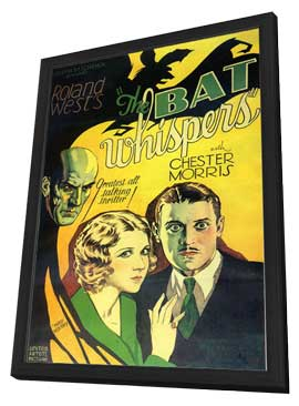 The Bat Whispers - 11 x 17 Movie Poster - Style A - in Deluxe Wood Frame