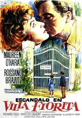 Battle of the Villa Fiorita - 11 x 17 Movie Poster - Spanish Style A