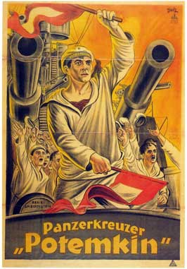 The Battleship Potemkin - 11 x 17 Movie Poster - German Style B