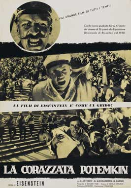 The Battleship Potemkin - 11 x 17 Movie Poster - Italian Style A