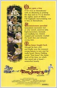 The Bawdy Adventures of Tom Jones - 11 x 17 Movie Poster - Style A