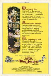 The Bawdy Adventures of Tom Jones - 27 x 40 Movie Poster - Style A