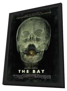 The Bay - 27 x 40 Movie Poster - Style A - in Deluxe Wood Frame