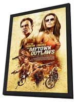 The Baytown Outlaws - 27 x 40 Movie Poster - Style B - in Deluxe Wood Frame