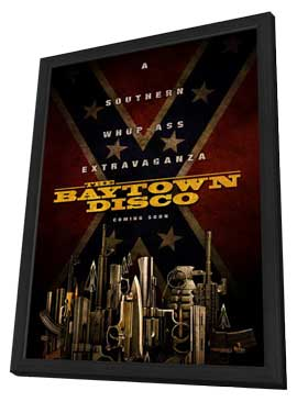 The Baytown Outlaws - 27 x 40 Movie Poster - Style A - in Deluxe Wood Frame