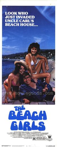 The Beach Girls - 14 x 36 Movie Poster - Insert Style A