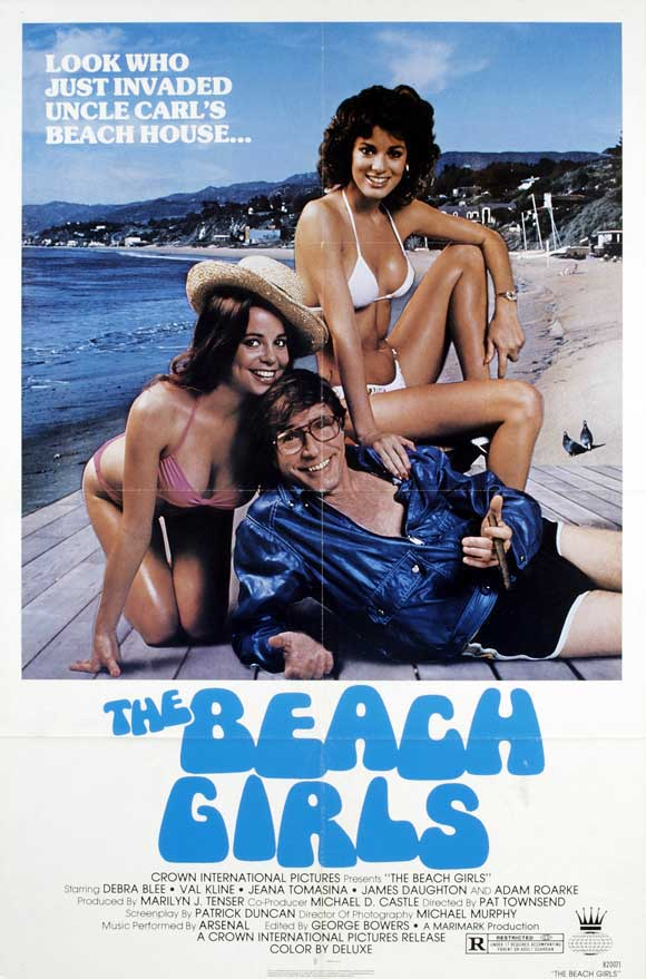 Girls Movie Posters The Beach Girls