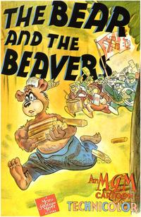 The Bear and the Beavers - 27 x 40 Movie Poster - Style A