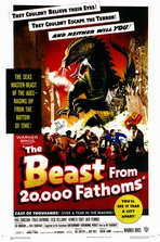 The Beast from 20,000 Fathoms - 11 x 17 Movie Poster - Style A