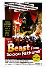 The Beast from 20,000 Fathoms - 27 x 40 Movie Poster - Style A