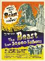 The Beast from 20,000 Fathoms - 27 x 40 Movie Poster - Style B