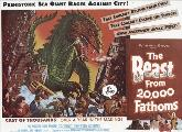 The Beast from 20,000 Fathoms - 11 x 17 Movie Poster - Style E