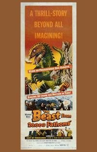 The Beast from 20,000 Fathoms - 11 x 17 Movie Poster - Style B