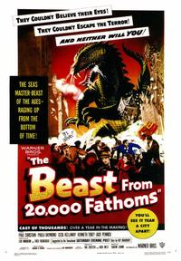 The Beast from 20,000 Fathoms - 43 x 62 Movie Poster - Bus Shelter Style A