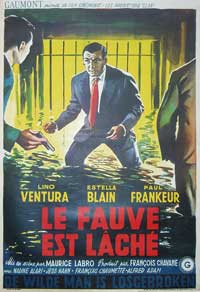 The Beast Is Loose - 11 x 17 Movie Poster - Belgian Style A