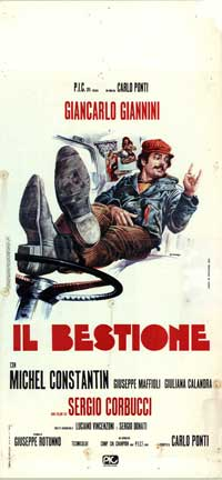 The Beast - 13 x 28 Movie Poster - Italian Style A