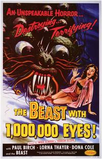 The Beast With 1,000,000 Eyes - 11 x 17 Movie Poster - Style A