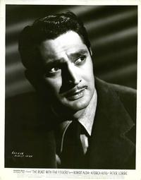 Image result for images of robert alda in the beast with five fingers