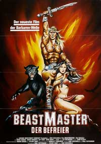 Beastmaster - 11 x 17 Movie Poster - German Style A