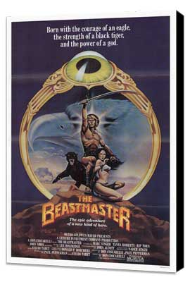 Beastmaster - 27 x 40 Movie Poster - Style A - Museum Wrapped Canvas