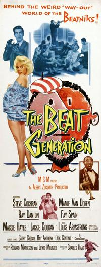 The Beat Generation - 14 x 36 Movie Poster - Insert Style A