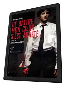 The Beat That My Heart Skipped - 27 x 40 Movie Poster - French Style A - in Deluxe Wood Frame