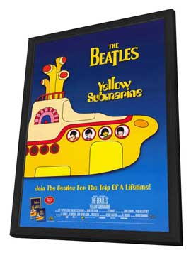 The Beatles Anthology - 11 x 17 Movie Poster - Style E - in Deluxe Wood Frame
